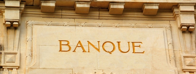 Mention banque