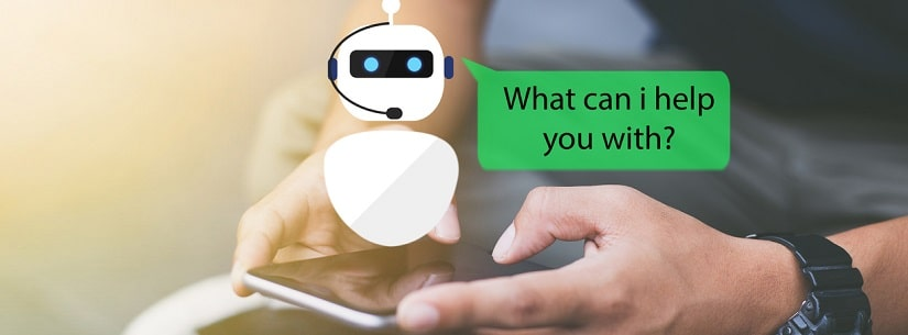 chatbot sur mobile