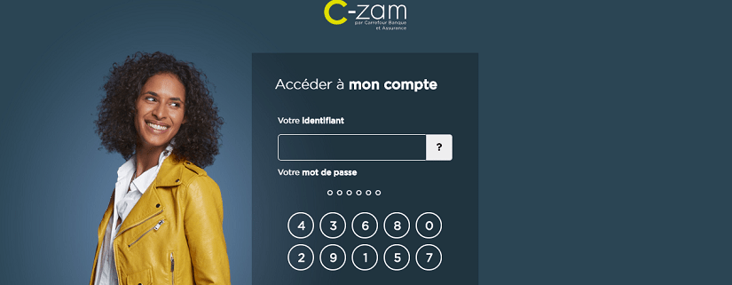 capture ecran du site Carrefour banque
