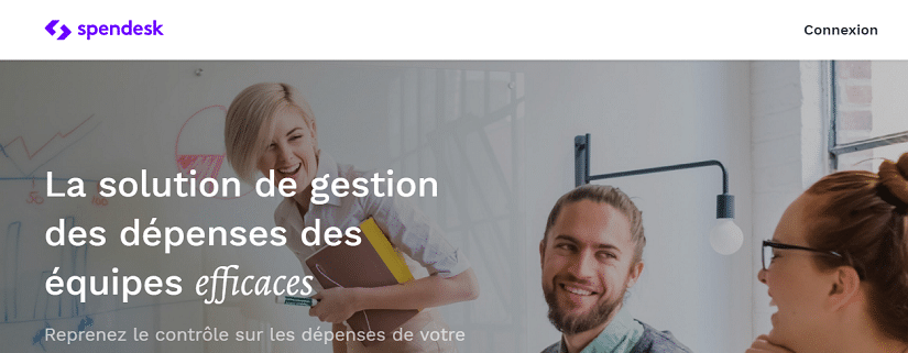 Capture du site Spendesk