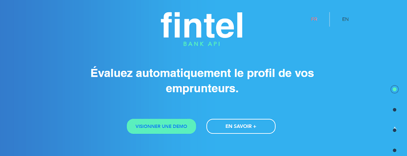 capture ecran du site Fintel