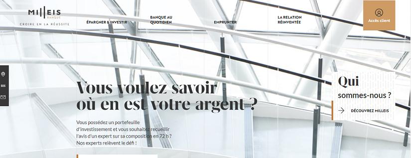 site web pour réduction chaussures pour pas cher tout neuf La Milleis Banque poursuit sa transformation ...