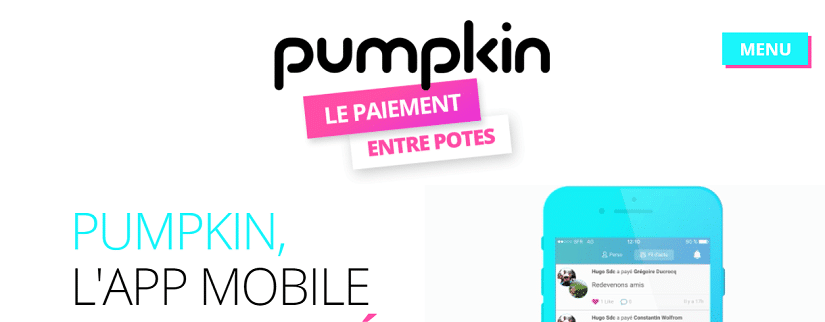 Capture écran du site Pumpkin