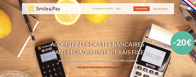 capture du site Smile & Pay