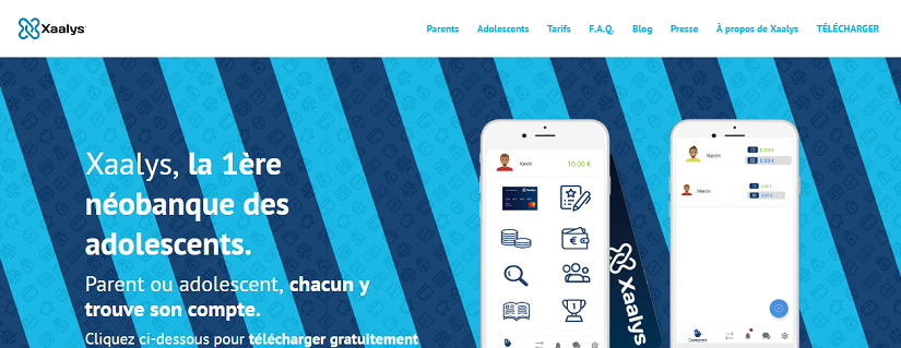 capture ecran du site Xaalys