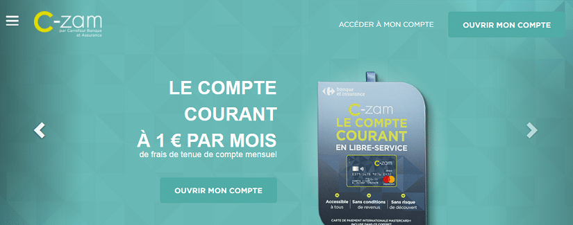 capture du site Carrefour C-Zam