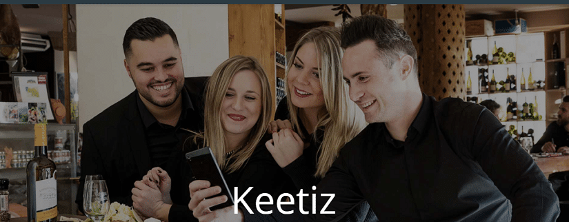 Capture du site de Keetiz