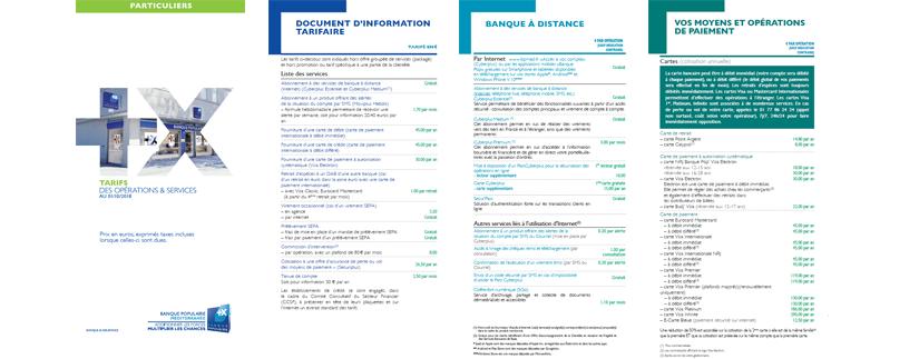 Frais Bancaire De La Banque Populaire Mediterranee